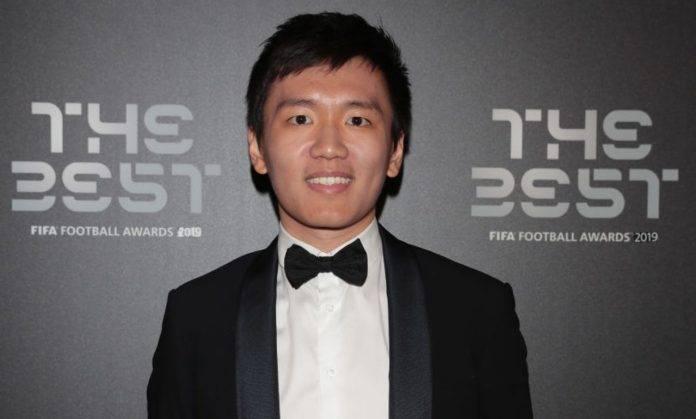 Steven Zhang a una cerimonia