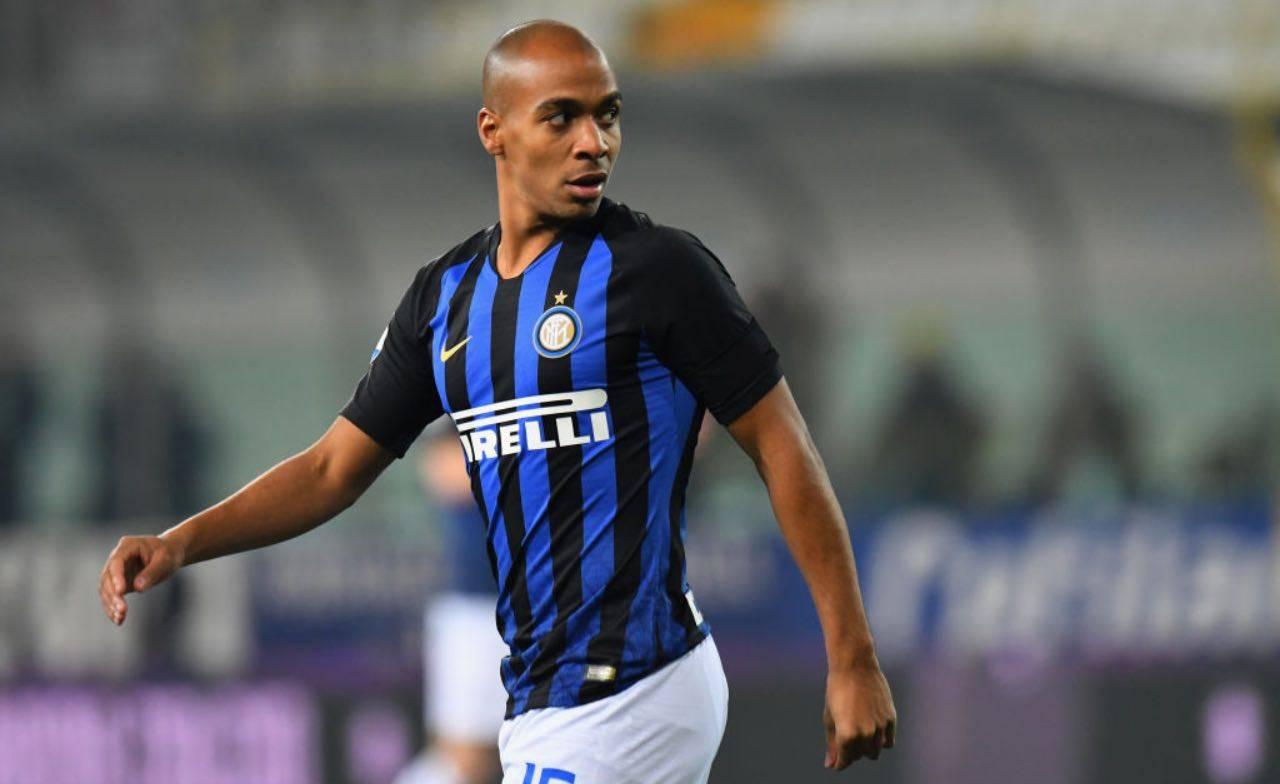 Joao Mario con la maglia dell'Inter