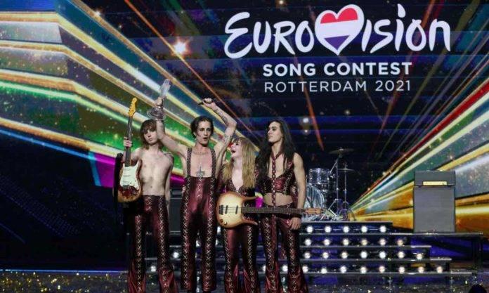I Maneskin premiati all'Eurovision