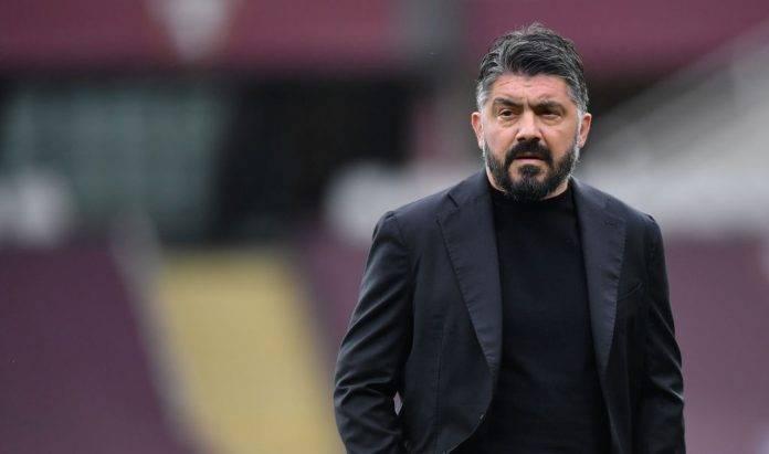 Gennaro Gattuso preoccupato