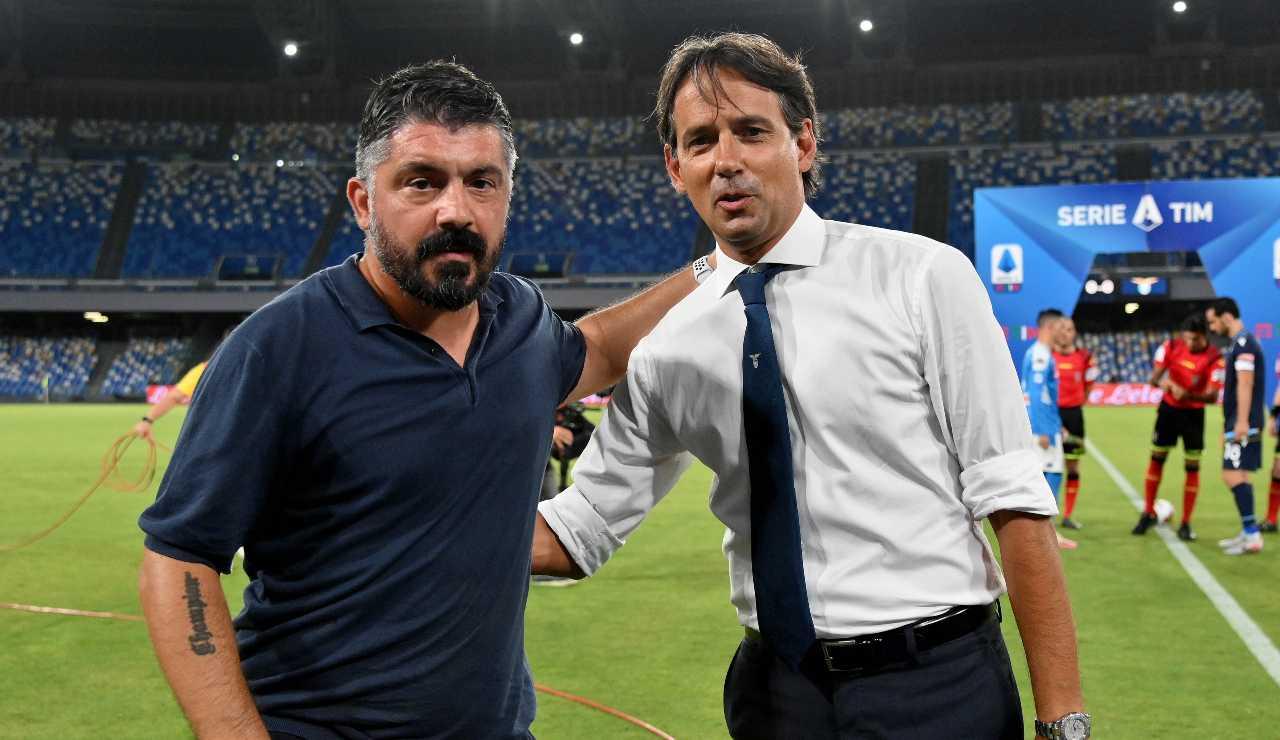 Gattuso e Inzaghi