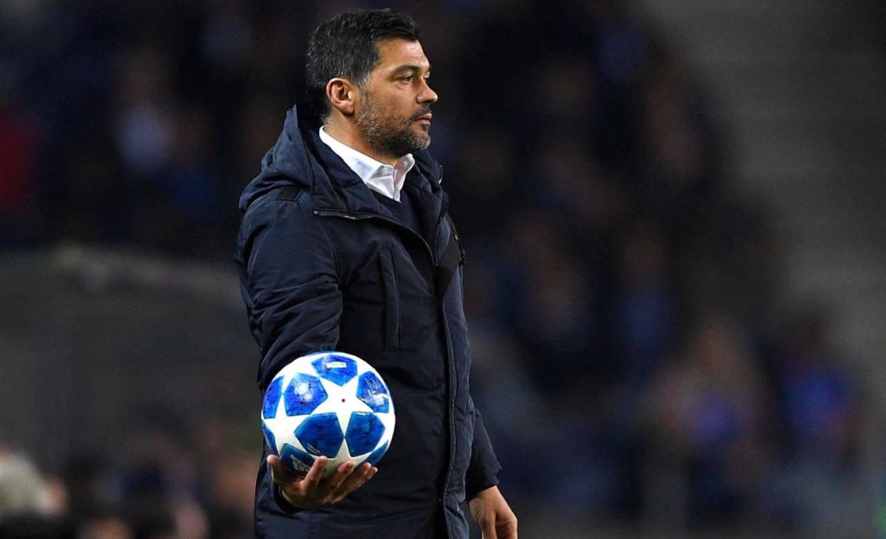 Conceicao dirige il Porto in Champions League