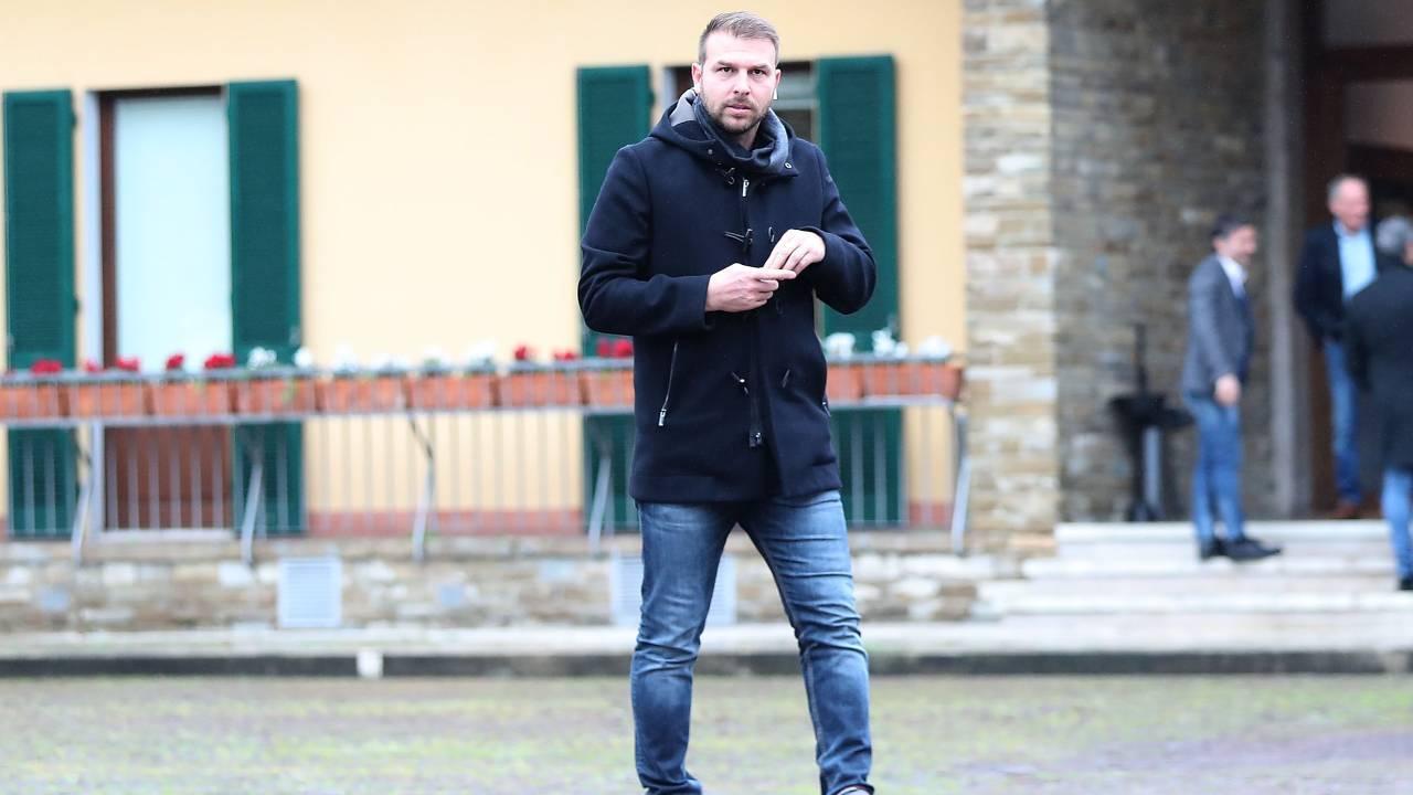 Paolo Zanetti cammina