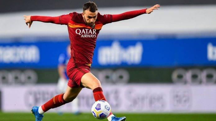 Sampdoria-Roma in campo