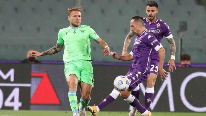 Fiorentina-Lazio in campo