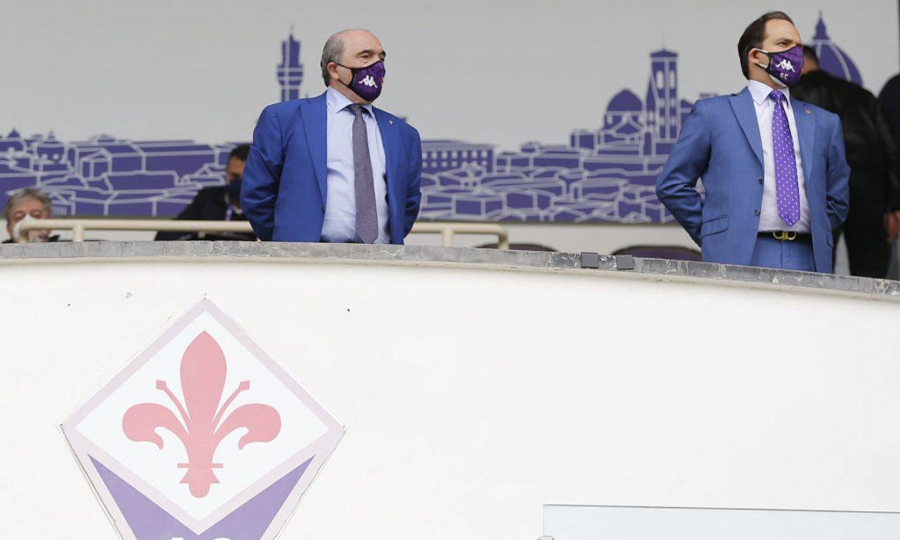 Commisso durante Fiorentina-Napoli
