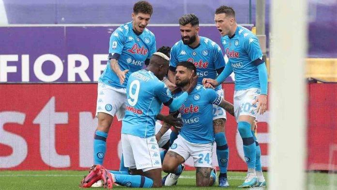 Napoli e Fiorentina in campo