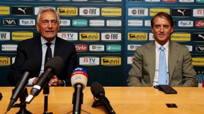 Gravina e Mancini insieme