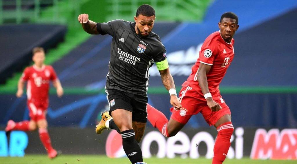 Depay contro il Bayern