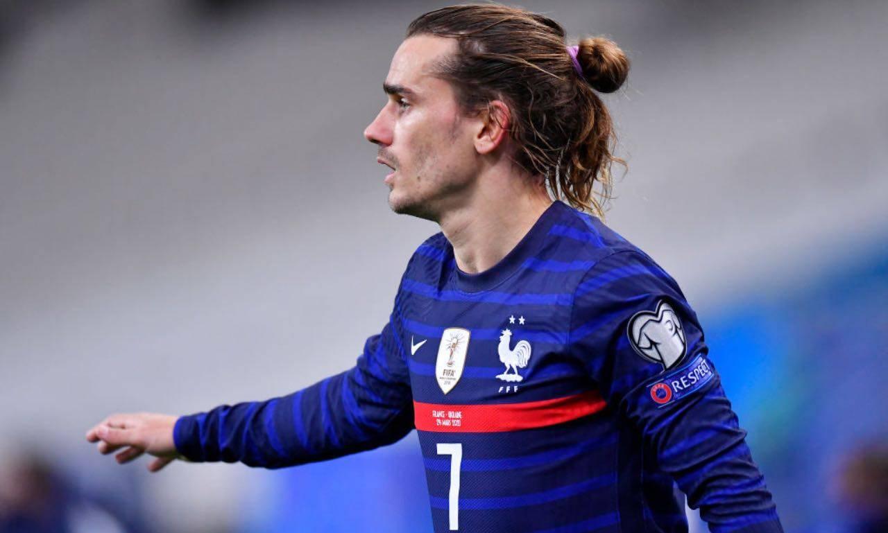 Griezmann con la maglia della Francia