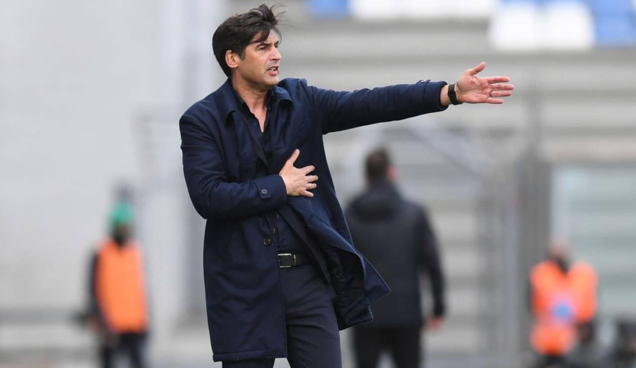 Fonseca dà indicazioni alla squadra