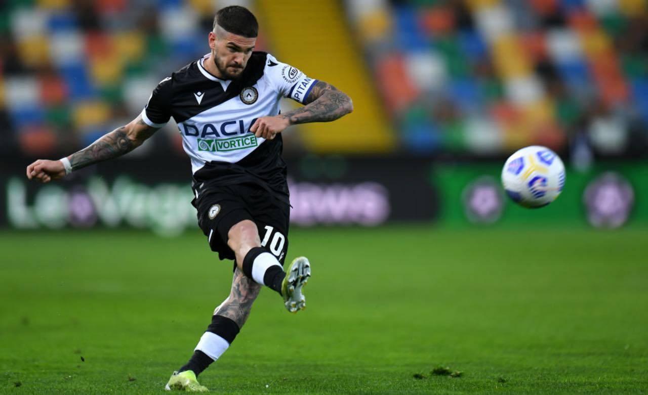De Paul in Udinese-Torino