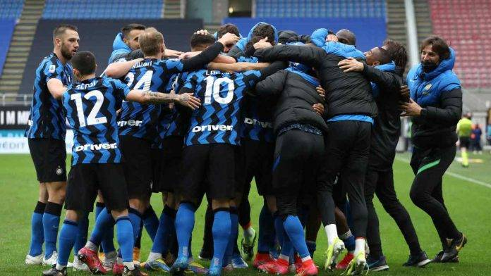 L'Inter esulta