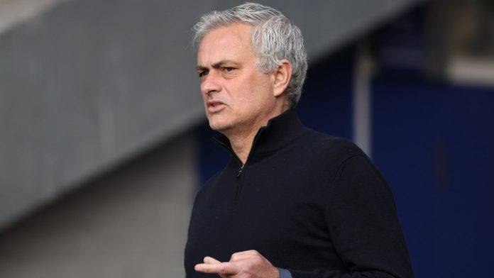 Jose Mourinho disgustato