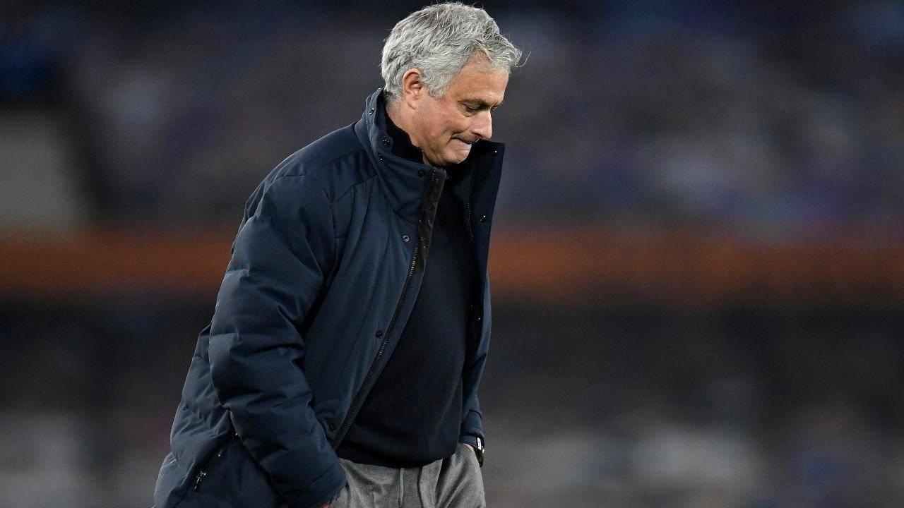 José Mourinho in campo