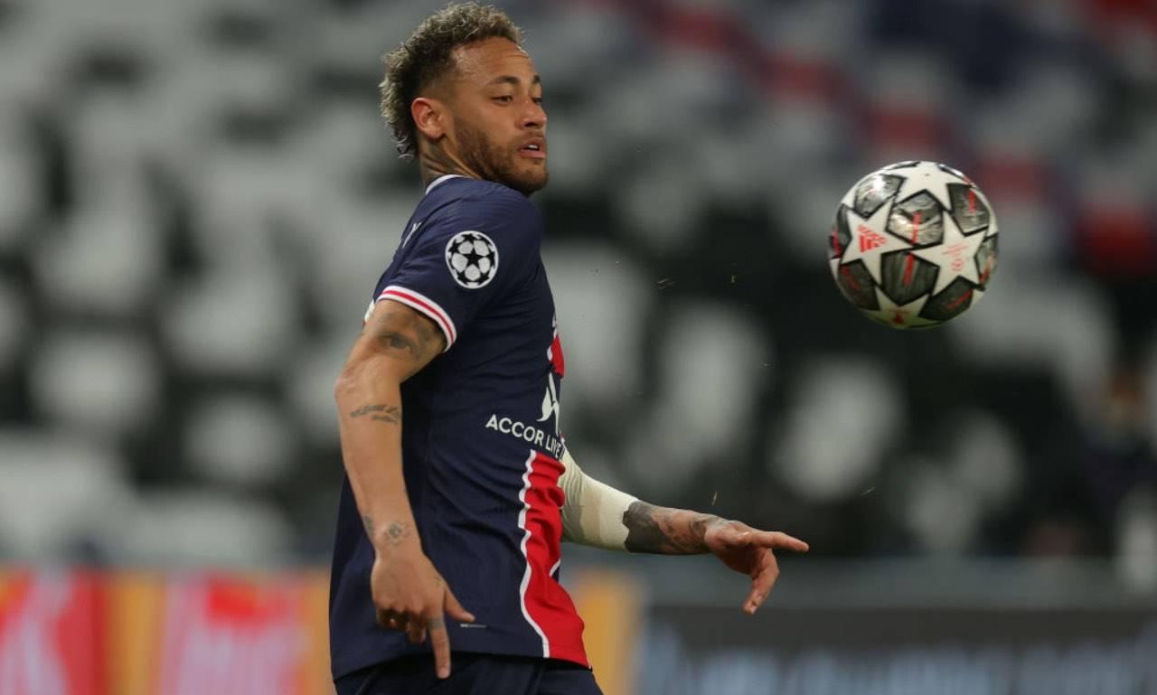 Neymar in Champions League