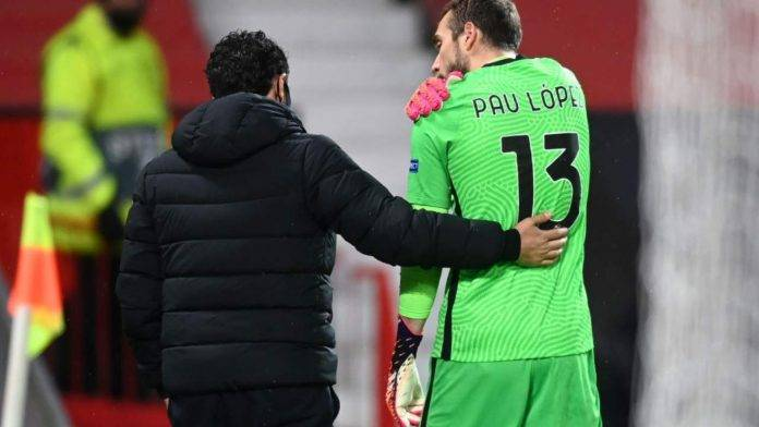 Infortunio Pau Lopez