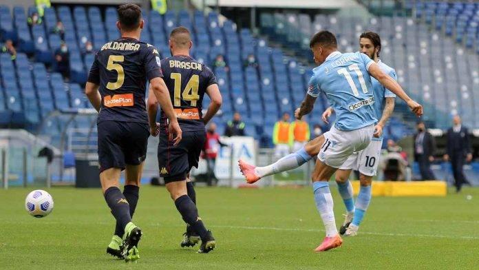 Lazio-Genoa in campo