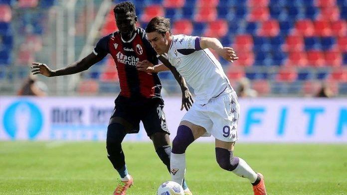 Bologna-Fiorentina in campo
