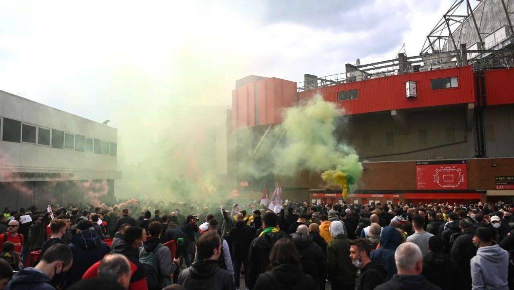 proteste manchester liverpool