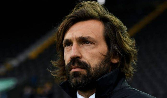 Andrea Pirlo in panchina