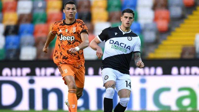 Udinese-Juventus in campo