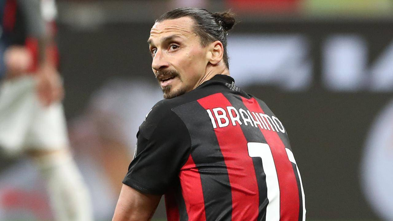 Zlatan Ibrahimovic in campo