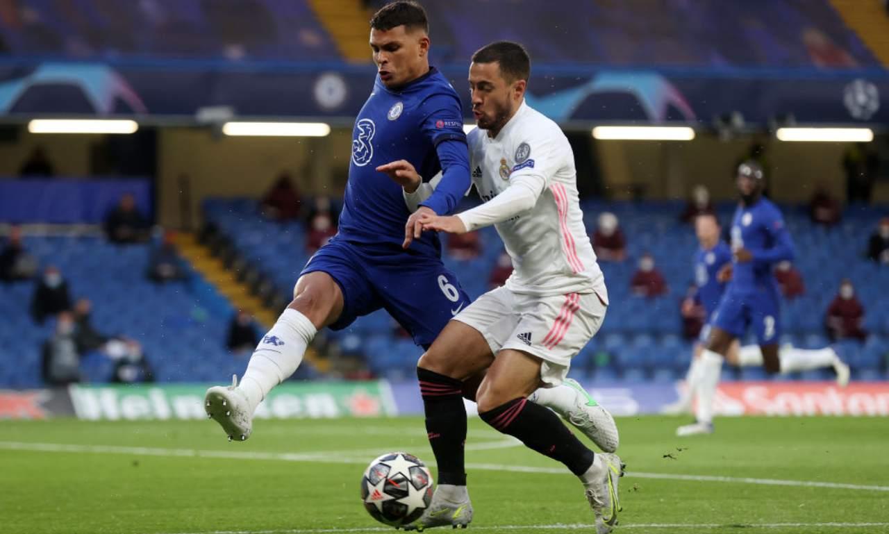 Thiago Silva contrasta Hazard