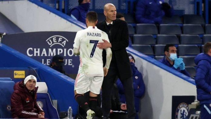 Hazard consolato da Zidane