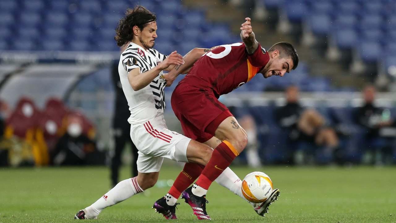 Manchester United e Roma in campo