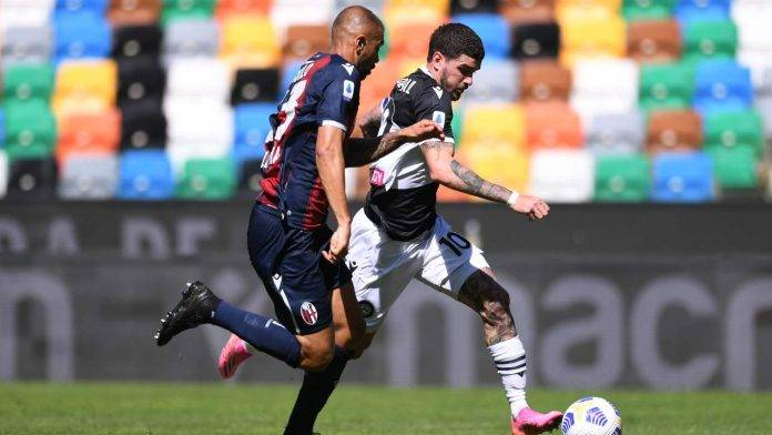 Udinese-Bologna in campo