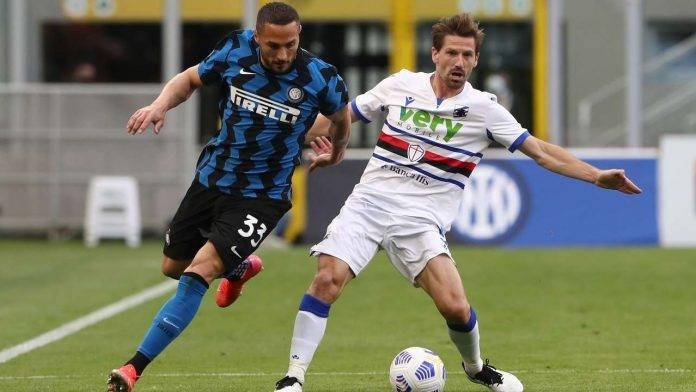 Inter-Sampdoria in campo
