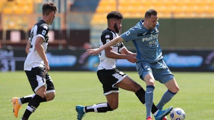 Parma-Atalanta in campo