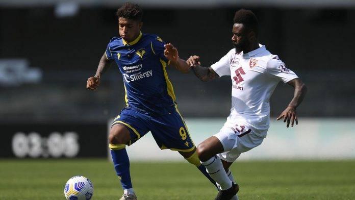 Verona-Torino in campo