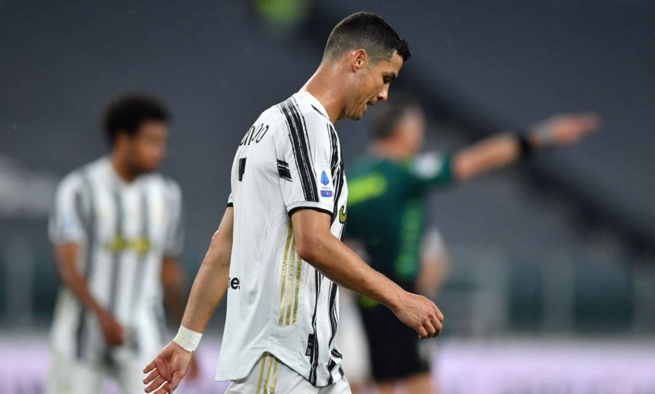 Ronaldo sconsolato