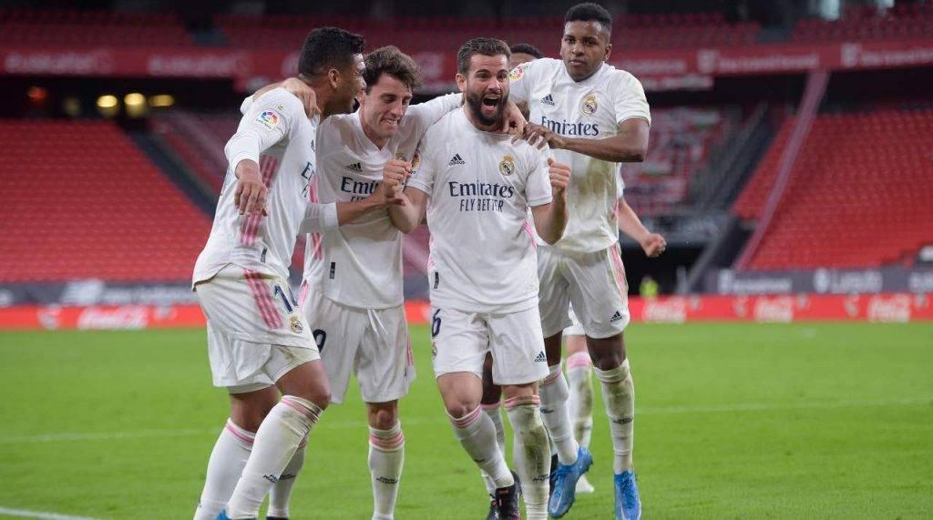 Real Madrid festeggia