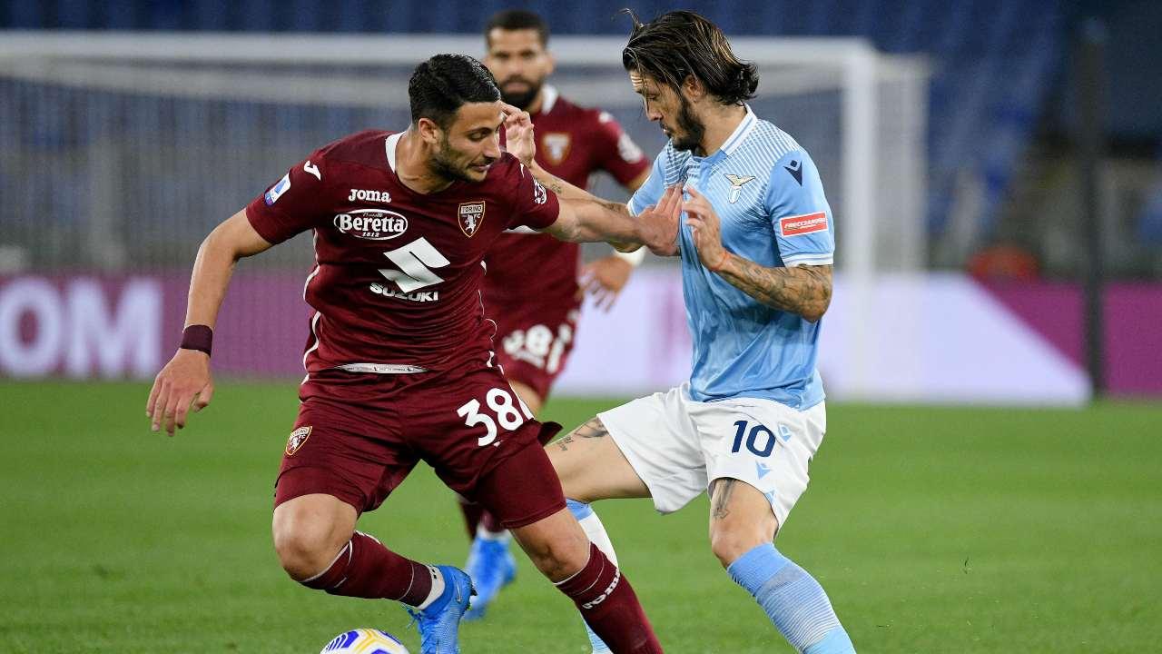 Lazio-Torino in campo