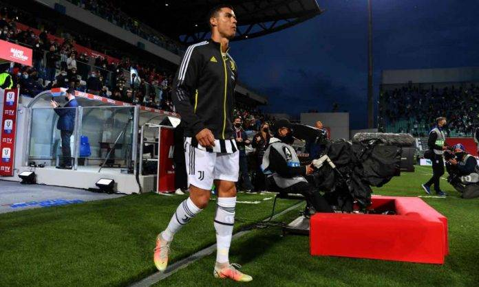 Ronaldo in Atalanta-Juventus