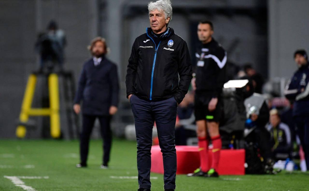 Gasperini in finale di Coppa Italia