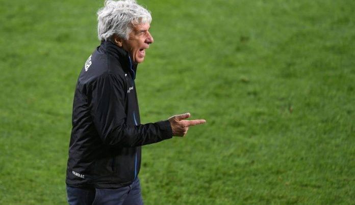 Gasperini durante la finale di Coppa Italia contro la Juventus