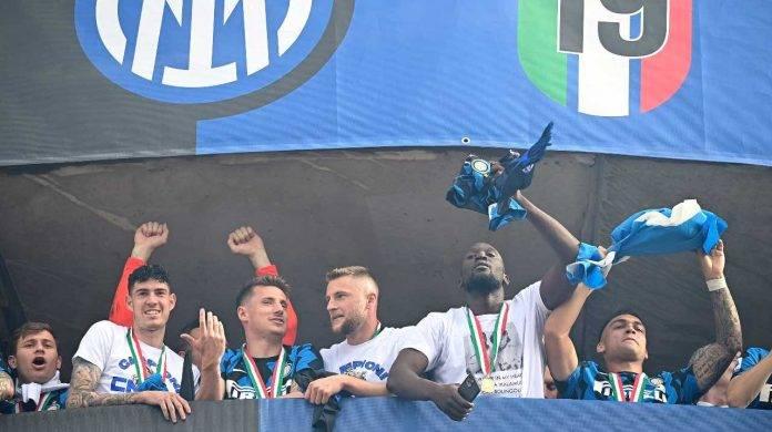 Inter festeggia scudetto