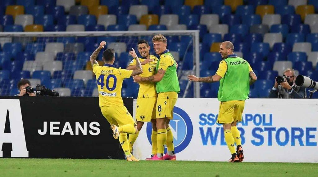 L'Hellas Verona festeggia