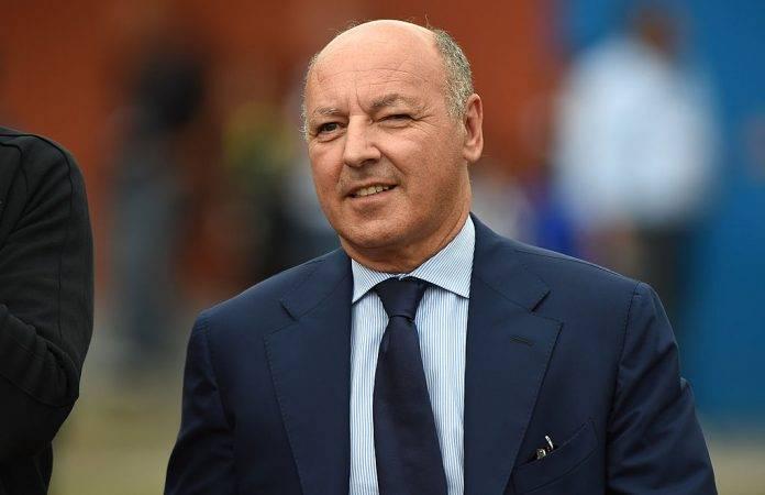 Beppe Marotta con l'Inter