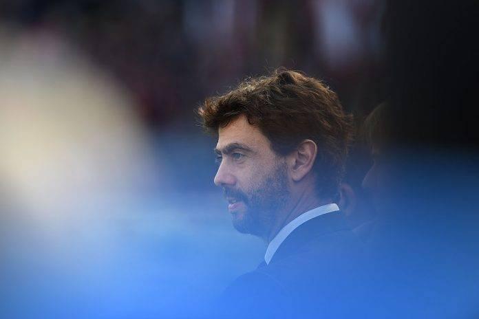 Agnelli con La Juventus