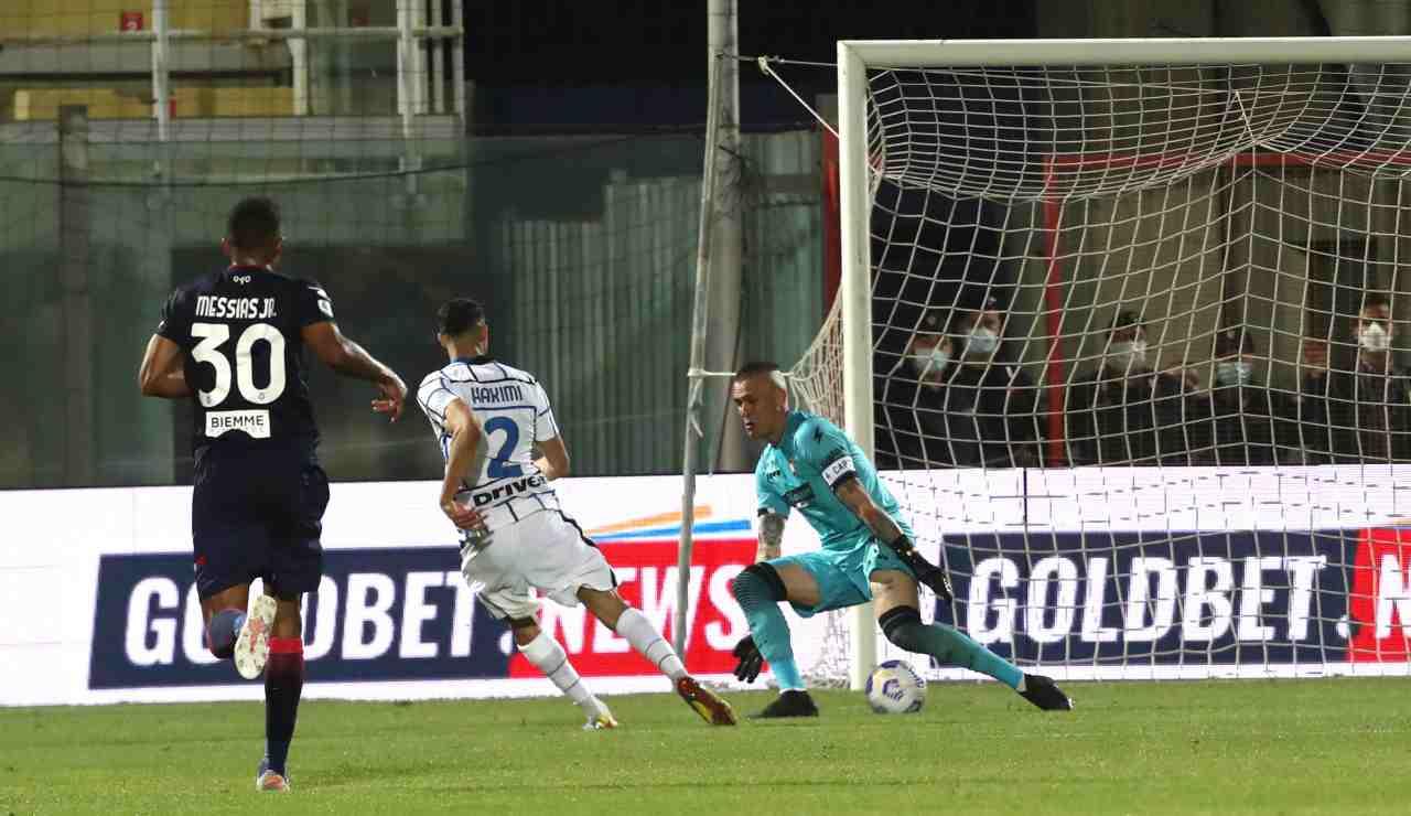Il gol di Hakimi al Crotone, il calciatore sarebbe rimasto volentieri al Real Madrid perché la considerava casa sua
