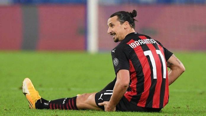 Ibrahimovic Milan a terra infortunato