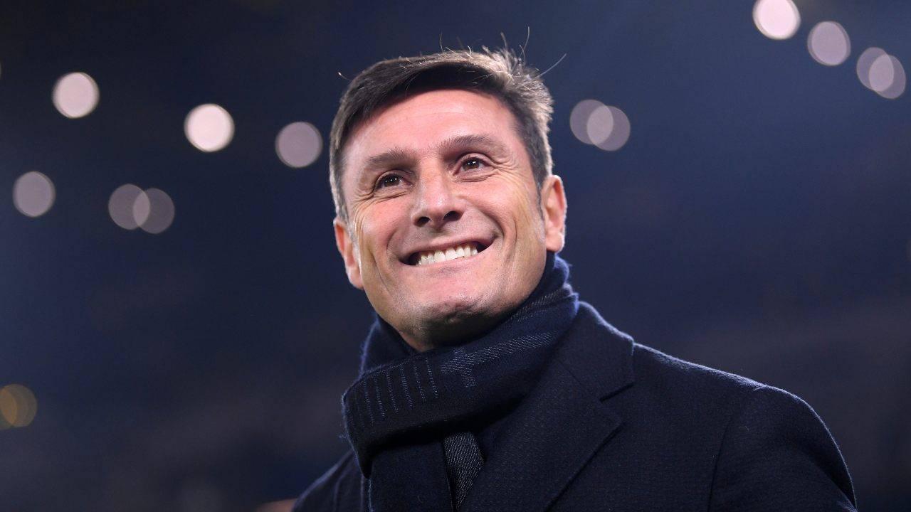 Javier Zanetti sorridente