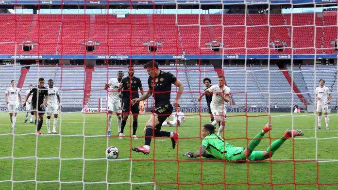 Lewandowski segna il gol numero 41