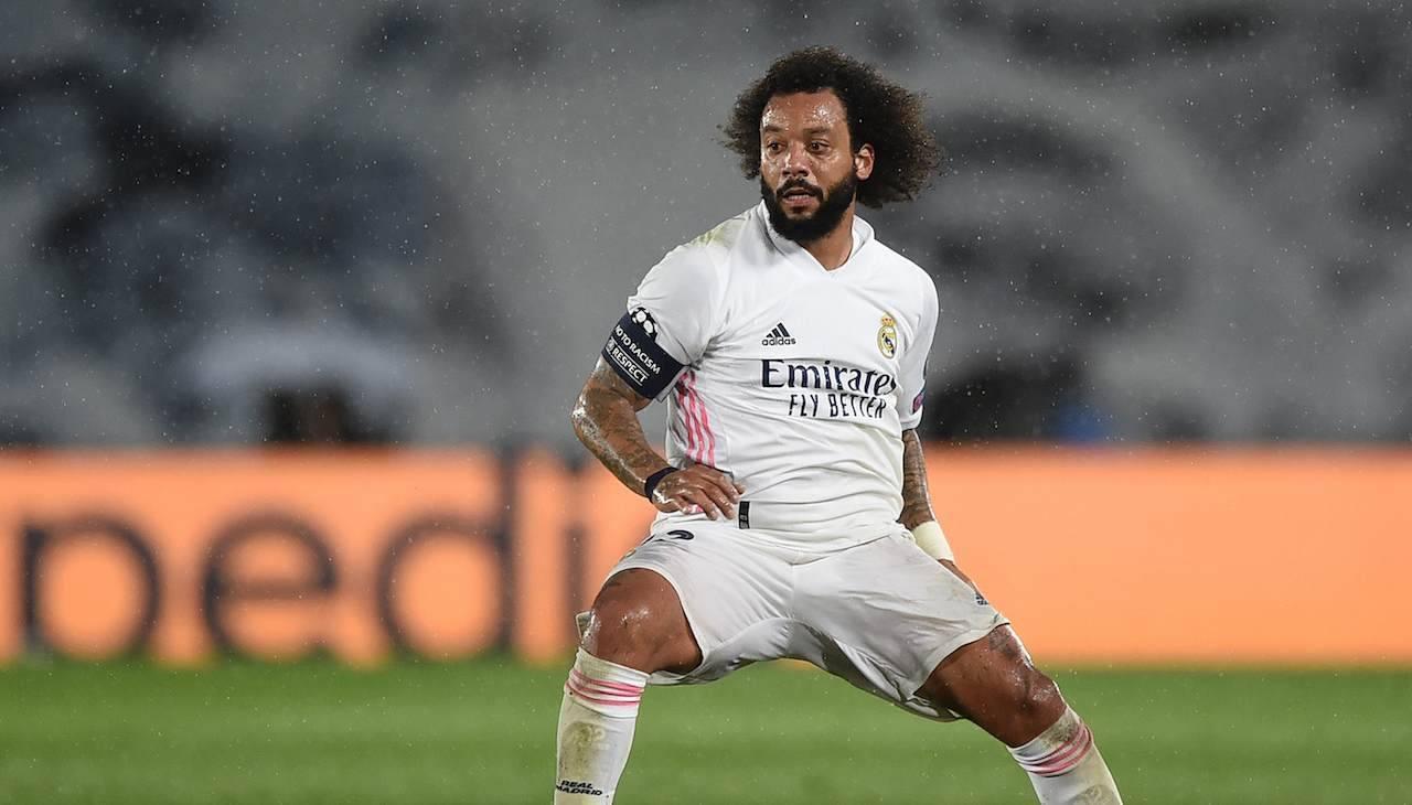 Marcelo Real Madrid porta palla
