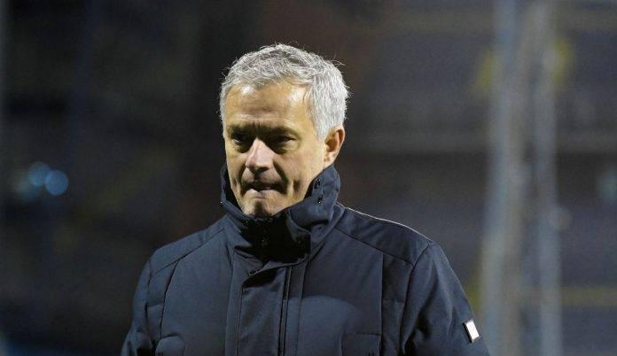 Mourinho entra in campo